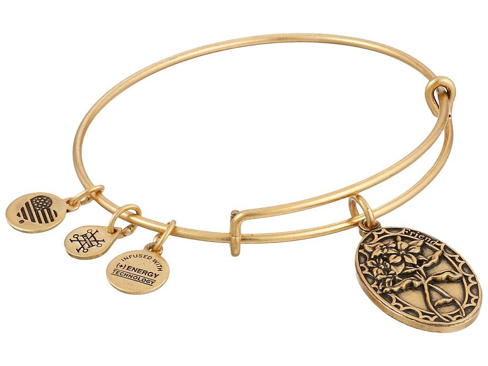 Alex and Ani - Because I love you, Friend II (Rafaelian Gold) Bracelet