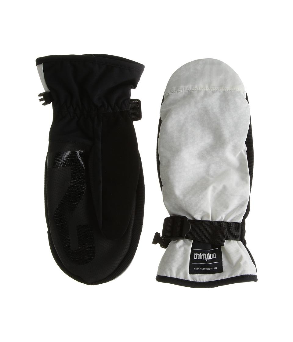 thirtytwo Yates Mitt (White/Camo) Over-Mits Gloves