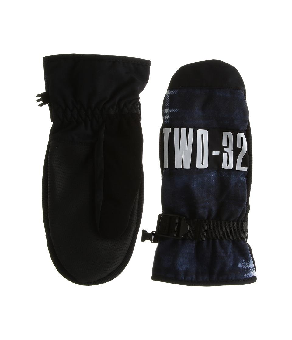 thirtytwo Hermann Mitt (Blue) Snowboard Gloves