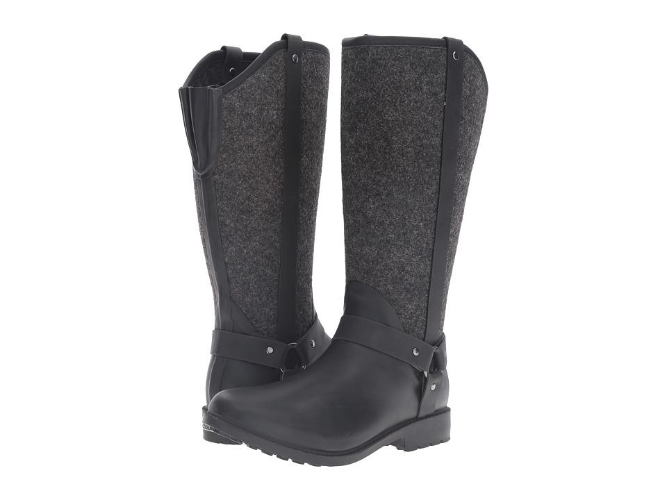 Chooka Trifecta Rain Boot (Charcoal) Women