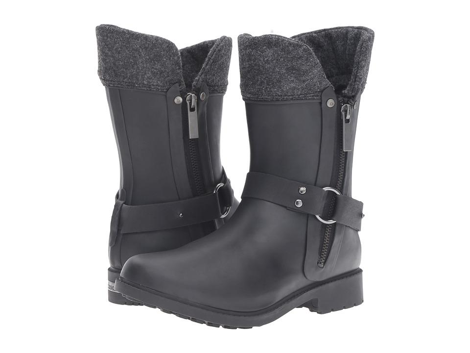 Chooka Dressage Mid Rain Boot (Black) Women