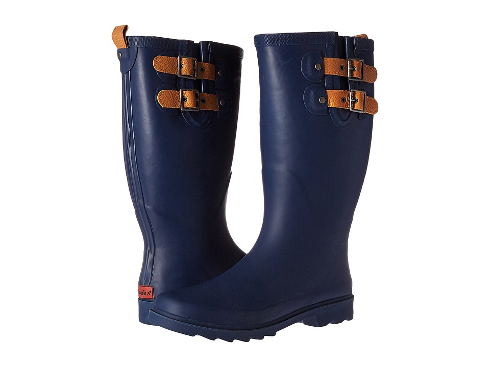 Chooka - Top Solid Rain Boot (Deep Navy) Women