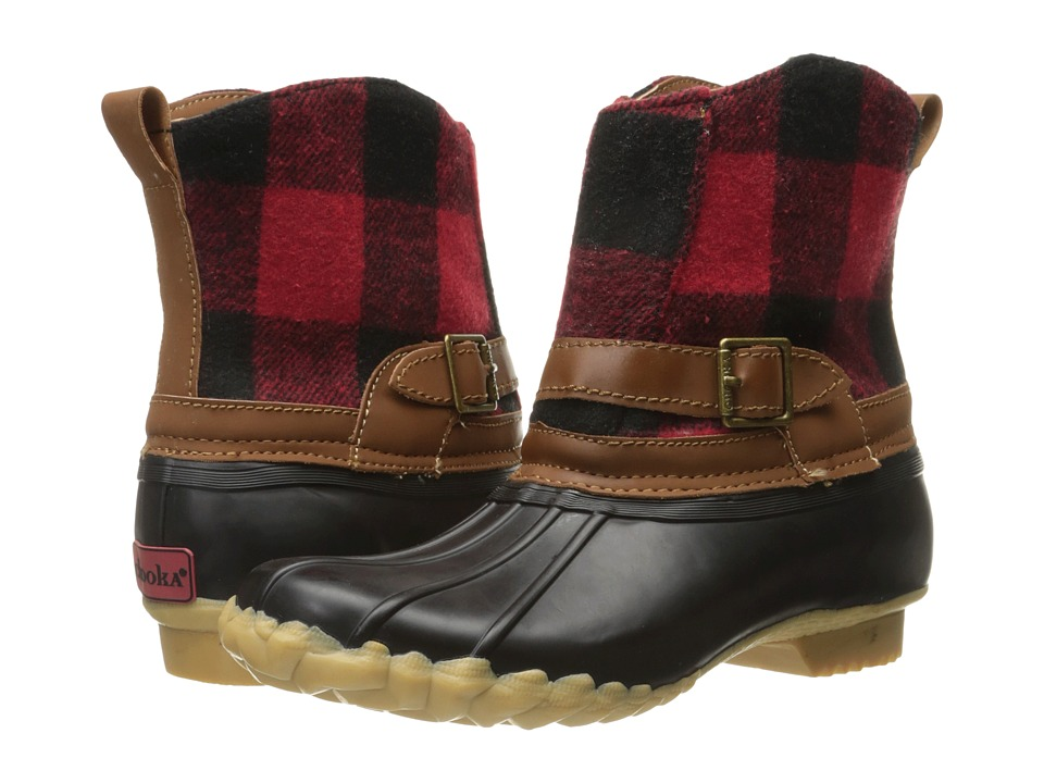Chooka Step In Duck Boot Buffalo (Red) Women