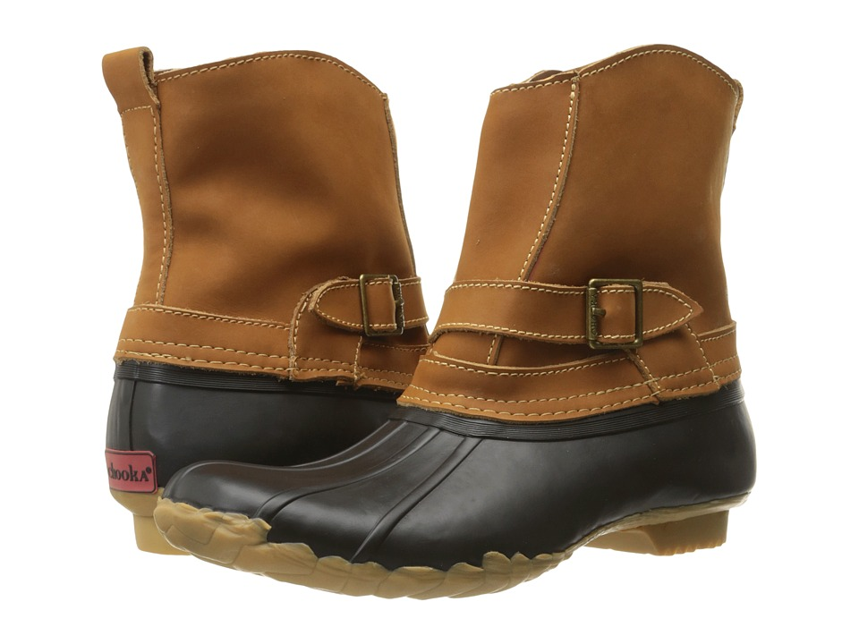 Chooka Step In Duck Boot (Black) Women