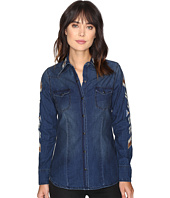 Stetson - Chambray Western Fitted Blouse