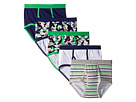 Trimfit Dino Camo Cotton Briefs 5-Pack (Toddler/Little Kids/Big Kids)