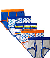 Trimfit - Football Cotton Briefs 5-Pack (Toddler/Little Kids/Big Kids)