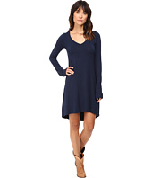 Stetson - Rayon Knit V-Neck T-Shirt Dress