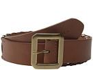 LAUREN Ralph Lauren Whipstitch Leather 1 1/2 Belt