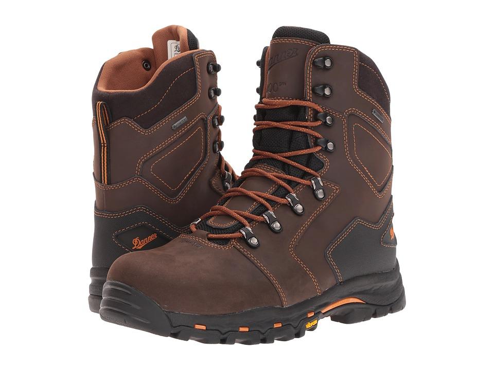 Danner Vicious 8 NMT (Brown) Men's Work Boots