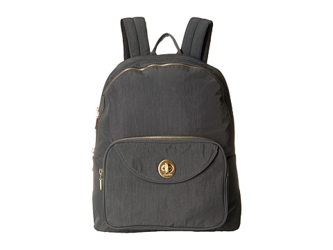 Baggallini Gold Brussels Laptop Backpack - Charcoal