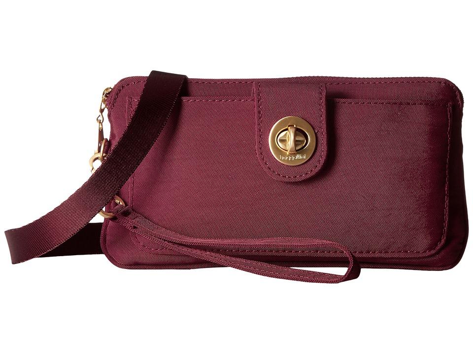 Baggallini - Gold Lisbon RFID Wristlet (Scarlet) Wristlet Handbags