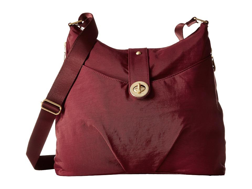 Baggallini - Gold Helsinki Bag (Scarlet) Handbags