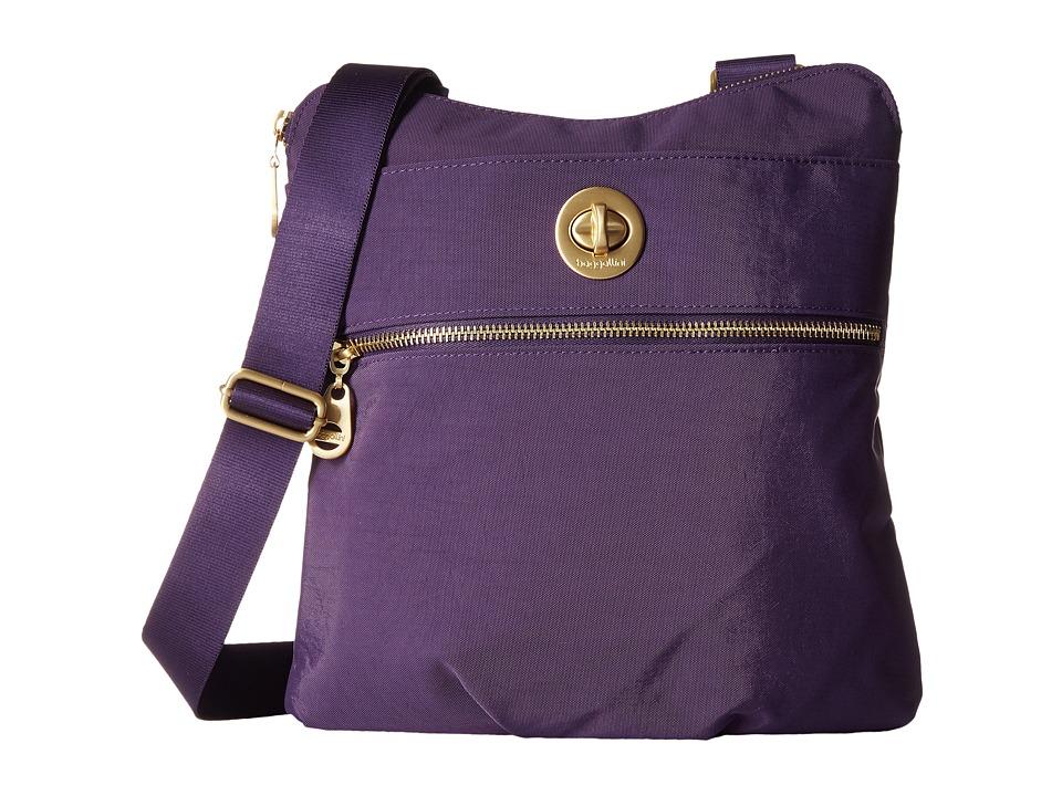 Baggallini - Gold Hanover Crossbody (Grape) Cross Body Handbags