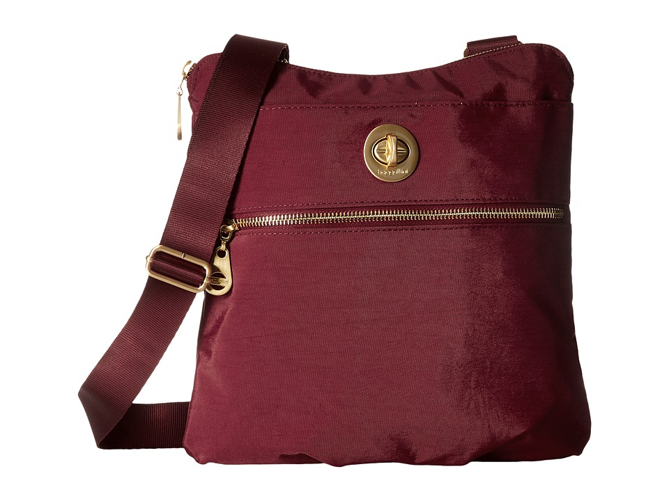 Baggallini - Gold Hanover Crossbody (Scarlet) Cross Body Handbags
