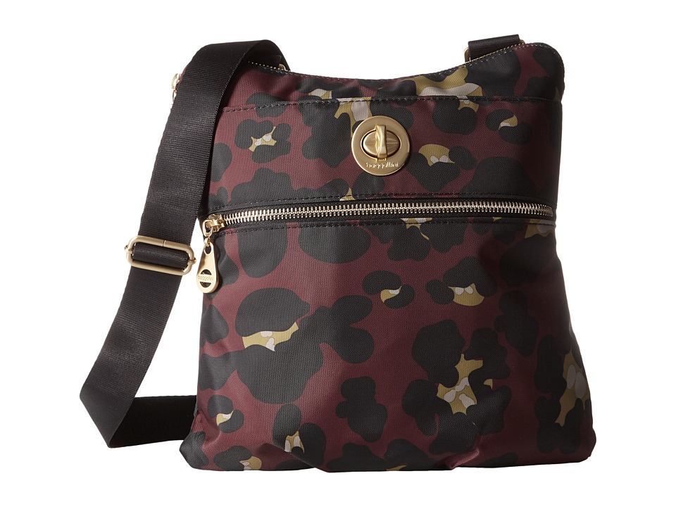 Baggallini - Gold Hanover Crossbody (Scarlet Cheetah) Cross Body Handbags