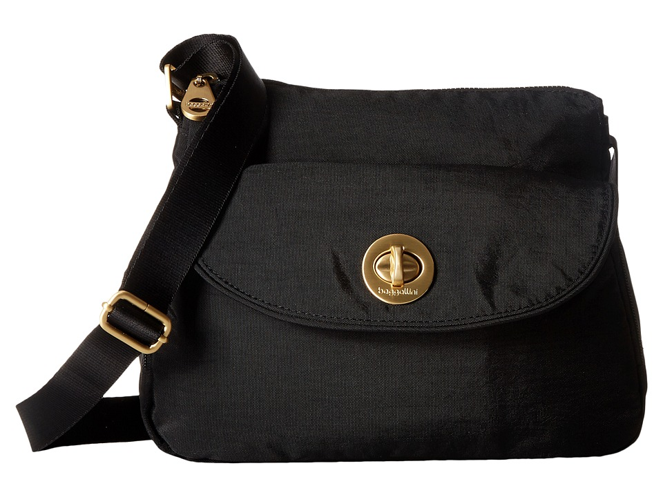 Baggallini Gold Provence Crossbody (Black) Cross Body Handbags