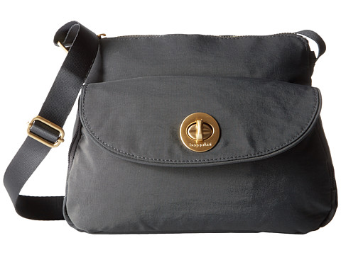 Baggallini Gold Provence Crossbody - Charcoal