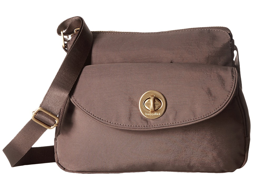 Baggallini Gold Provence Crossbody (Portobello) Cross Body Handbags