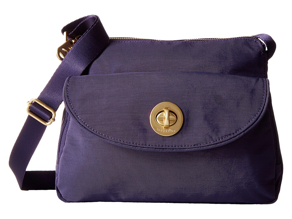 Baggallini - Gold Provence Crossbody (Grape) Cross Body Handbags