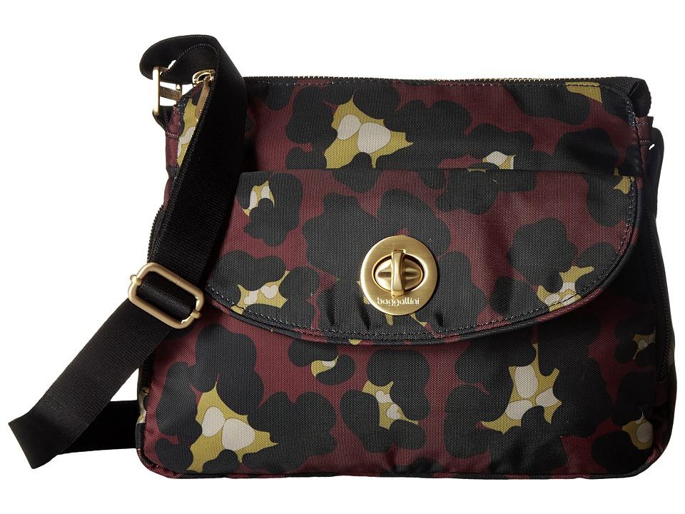 Baggallini - Gold Provence Crossbody (Scarlet Cheetah) Cross Body Handbags