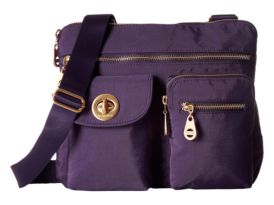 Baggallini - Gold Sydney (Grape) Handbags