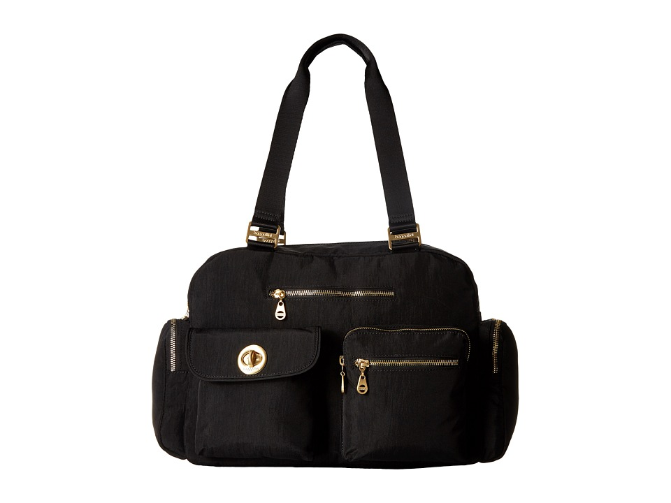 Baggallini Gold Venice Laptop Tote (Black) Tote Handbags