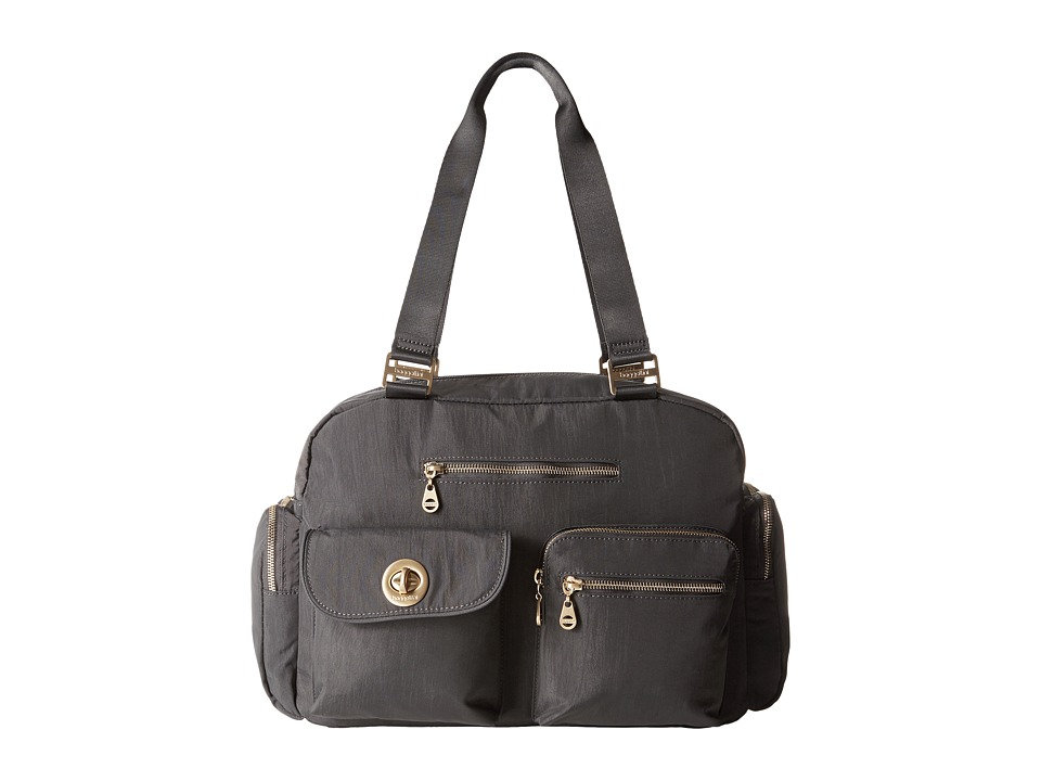 Baggallini Gold Venice Laptop Tote (Charcoal) Tote Handbags
