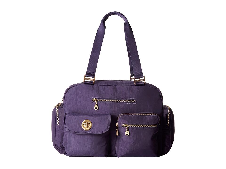 Baggallini - Gold Venice Laptop Tote (Grape) Tote Handbags