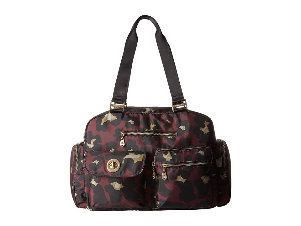 Baggallini - Gold Venice Laptop Tote (Scarlet Cheetah) Tote Handbags