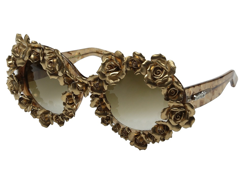 A Morir Naomi Gold Fashion Sunglasses