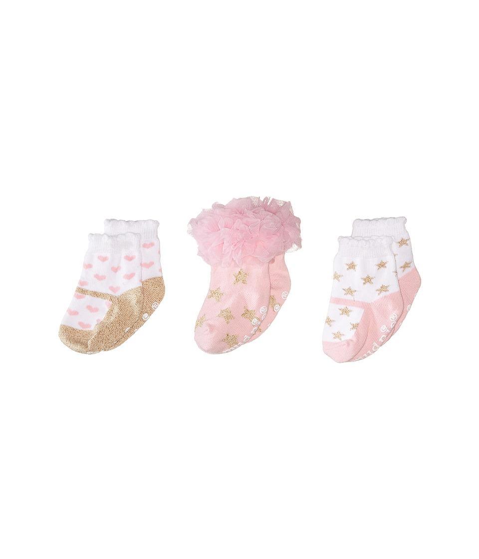 Mud Pie Glitter Princess Sock Set Pink Accessories Travel