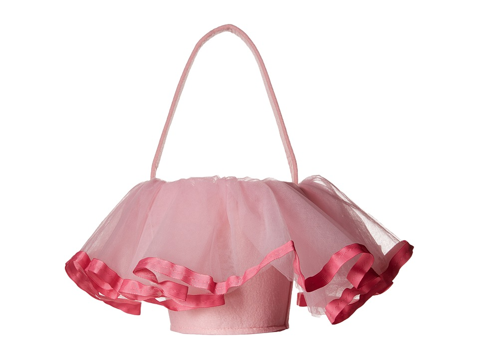Mud Pie Tutu Easter Basket Pink Accessories Travel