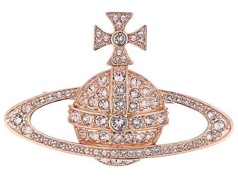 Vivienne Westwood Bas Relief Brooch - Silk Crystals