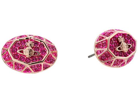 Vivienne Westwood Liliana Earrings - Fuchsia