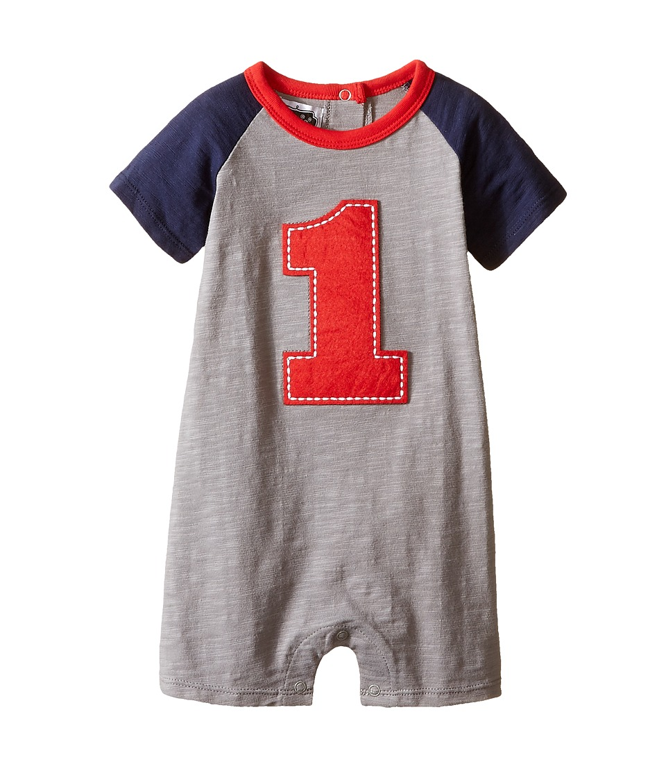 Mud Pie - 1st Birthday One-Piece (Infant) (Blue) Boys Jumpsuit & Rompers One Piece