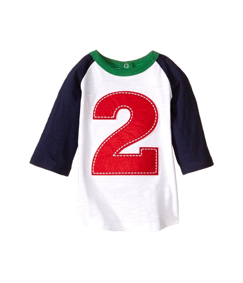 Mud Pie 2nd Birthday T Shirt Toddler Blue Boys T Shirt