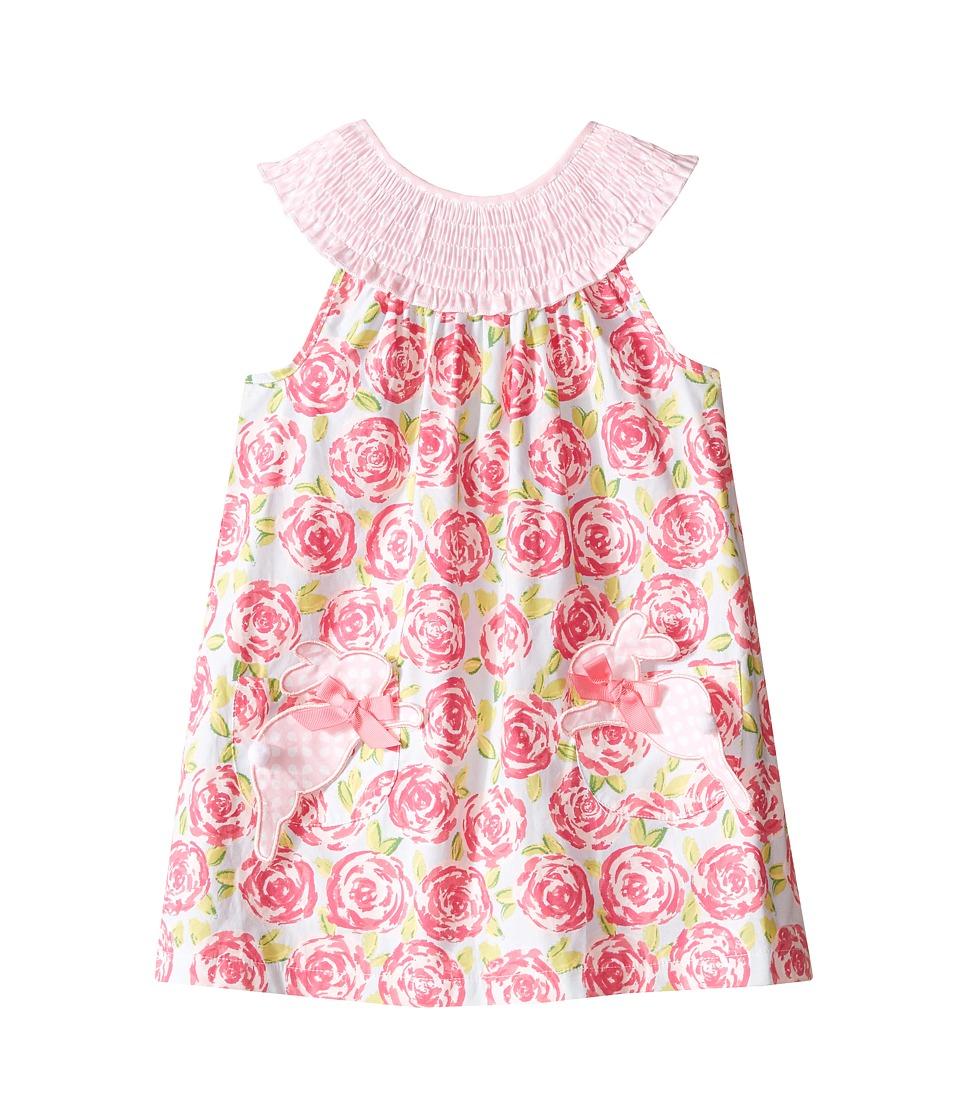 Mud Pie Bunny Dress Toddler Pink Girls Dress