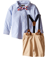Mud Pie - Suspender Shorts Set (Infant)