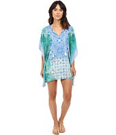 La Blanca - Tile We Meet Again Caftan Cover-Up