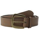 LAUREN Ralph Lauren Tumbled Leather 1 3/4 Rings Belt