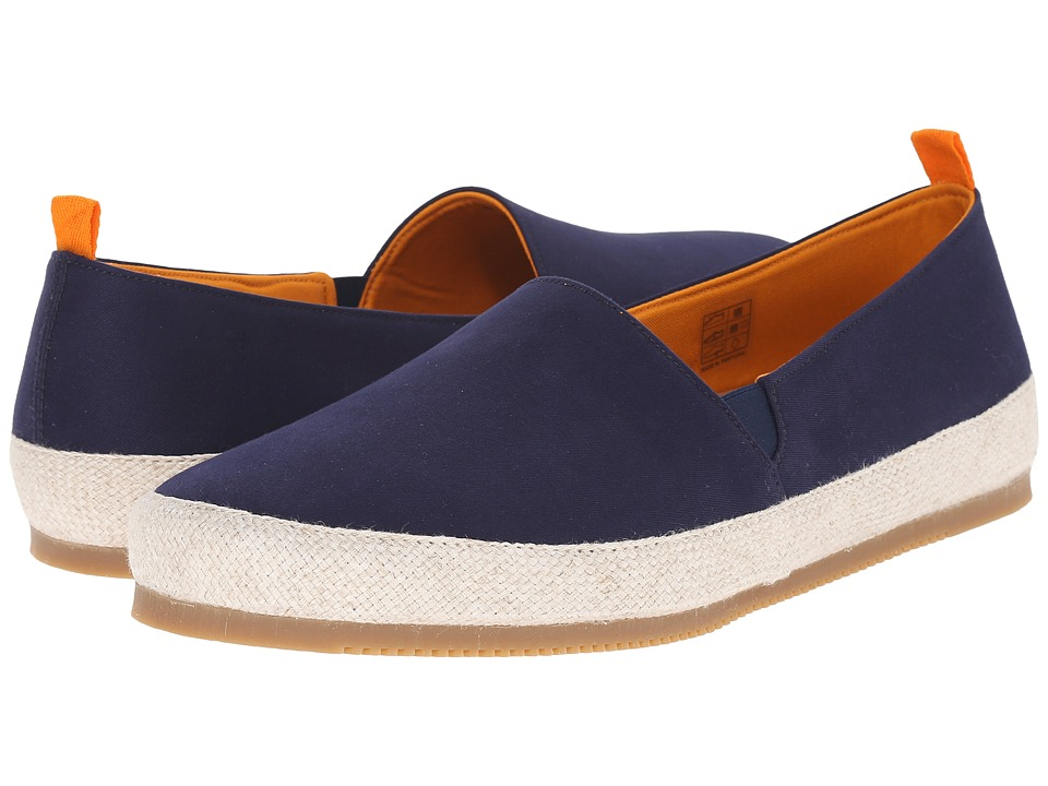 Mulo Cotton Espadrille Navy Mens Shoes