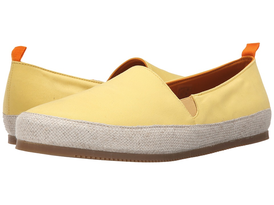 Mulo Cotton Espadrille Lemon Mens Shoes