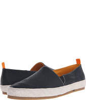 Mulo - Embossed Leather Espadrille