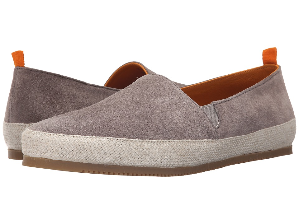 Mulo Suede Espadrille Taupe Mens Shoes