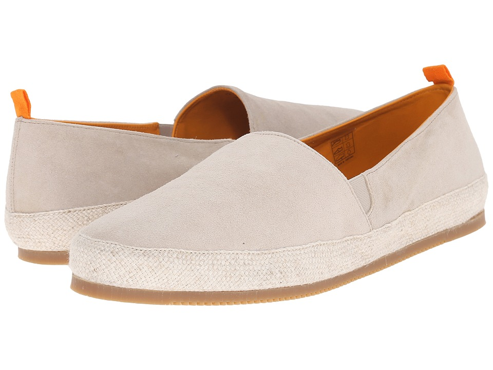 Mulo Suede Espadrille Natural Mens Shoes