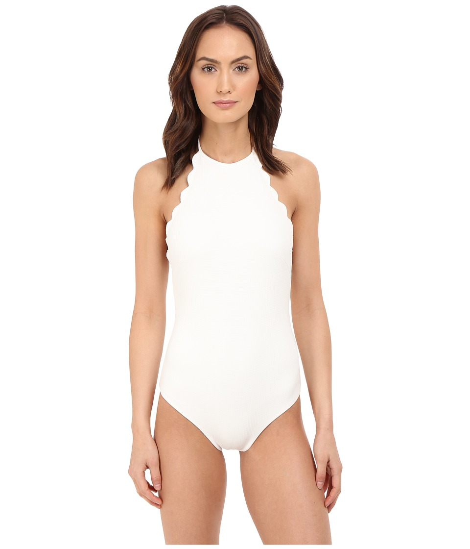 Marysia Mott Maillot Off White Womens Swimsuits One Piece