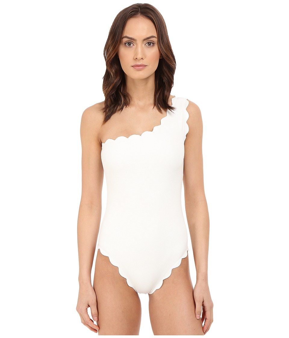 Marysia Santa Barbara Maillot Off White Womens Swimsuits One Piece