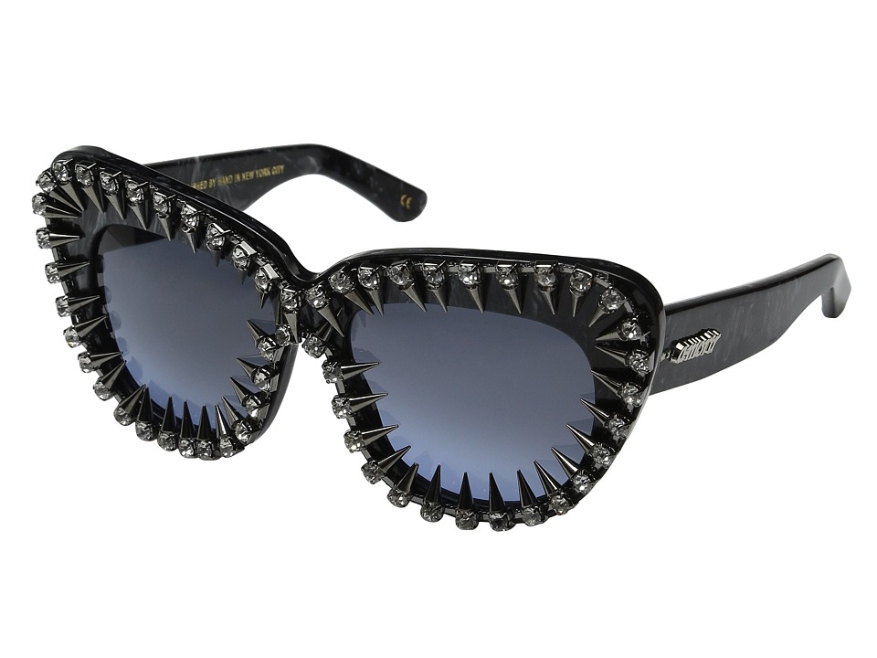 A Morir Cindy Black Marble Fashion Sunglasses