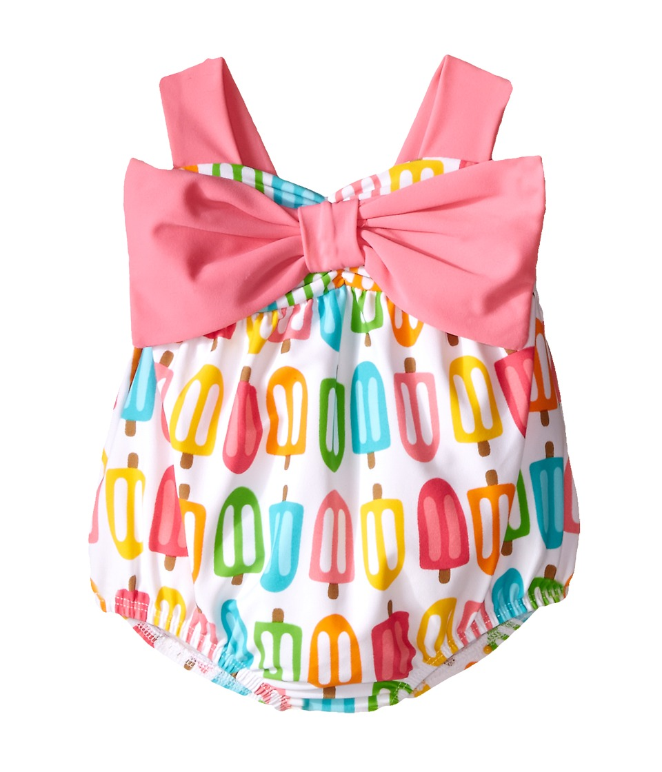 Mud Pie Popsicle Swimsuit Infant Pink Girls Swimsuits One Piece